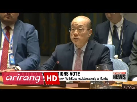 UN Security Council expected to vote on new North Korea resolution as early as Monday