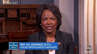 Rep. Val Demings Discusses Impeachment Trial Witnesses and Documents | The View
