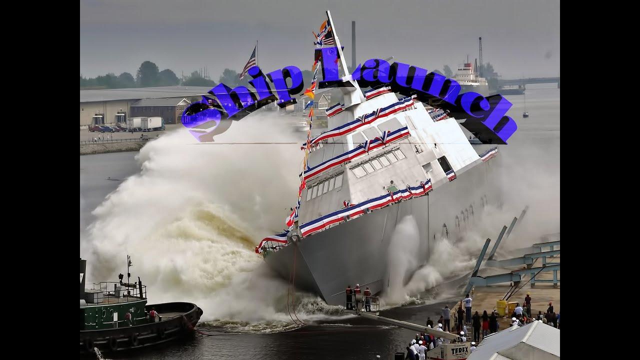 Поздравления со спуском судна