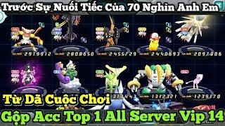 Gộp Acc Top 1 Pokemon Server 368 Trước Sự Nuối Tiếc Của 70 Nghìn Anh Em : New Pokemon Game Theory