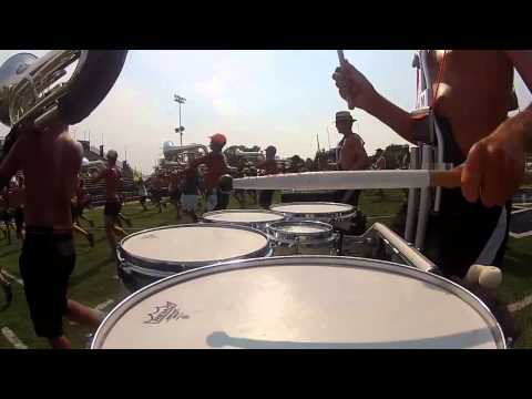 DCI Drum Cam: 2012 The Cavaliers