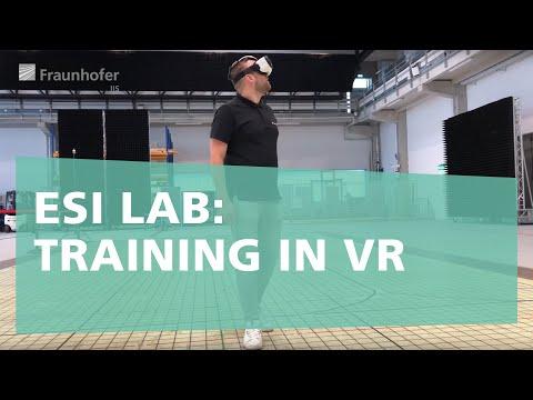 Training in der Virtuellen Realität - Aus dem ESI Sport- und Fitness-Lab