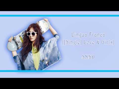 [Rom/Han/Eng] Snsd - Lingua Franca Lyrics