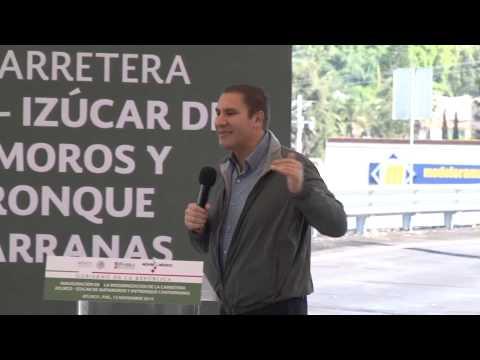 Modernización de la carretera Atlixco-Izúcar de Matamoros