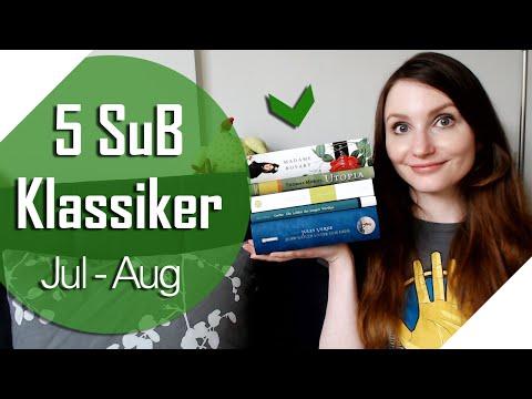 [5 SuB Bücher] Klassiker | Juli - August 2016