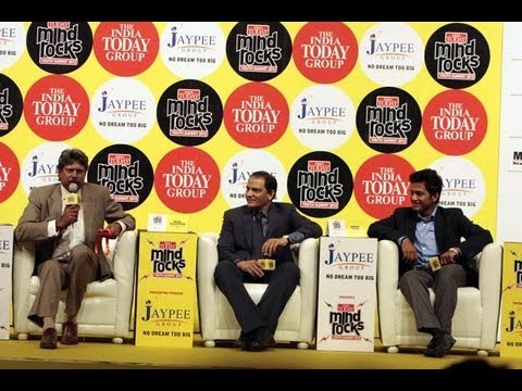 Kapil Dev, Azhar and Unmukt Chand talk about Cricketat the India Today Mind Rocks 2012