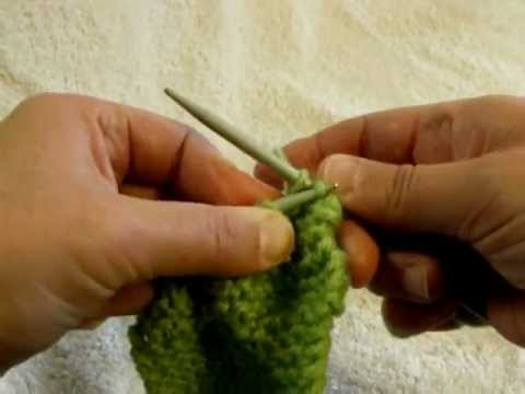Casting Off Stitches For Knitting : Cast Off or Bind Off - Knitting Lesson 3 - YouTube