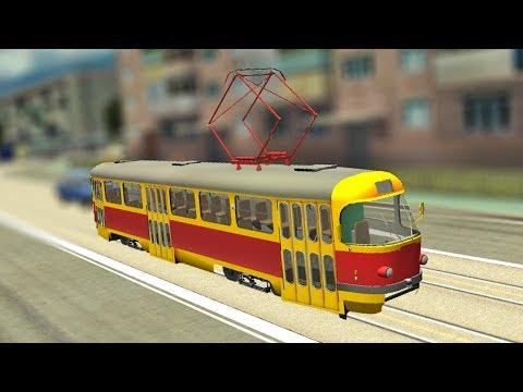 Симулятор вождения трамвая