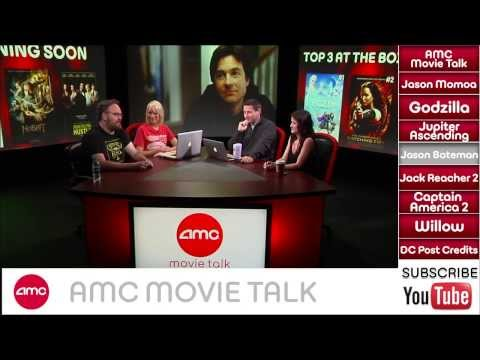 AMC Movie Talk - BATMAN SUPERMAN Adding Jason Momoa, GODZILLA Trailer Hits