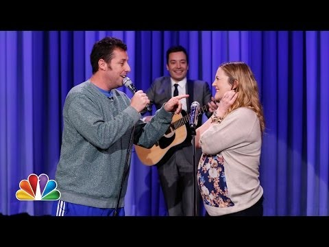 Adam Sandler & Drew Barrymore: The every 10 Years Song video