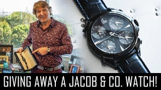 WIN THIS JACOB & CO WATCH FOR FREE!! (GIVEAWAY)