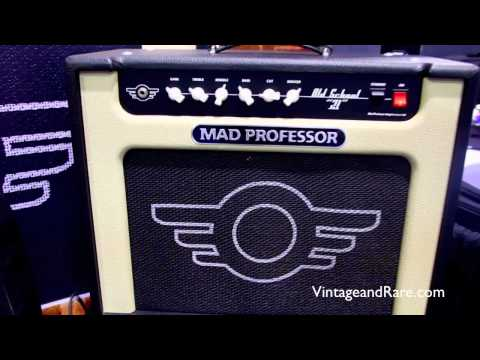 Mad Professor Amps / Interview / NAMM / Vintage&RareTV / Boutique Amps