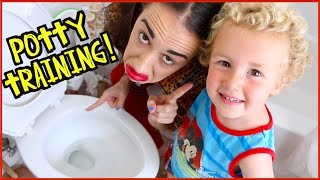 HOW TO POTTY TRAIN A BABY