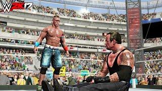WWE 2K17 - John Cena vs Undertaker - Career vs Career