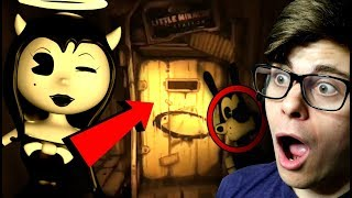 ALICE ANGEL'S MIRACLE STATION! | Bendy and The Ink Machine CHAPTER 3 TRAILER (Reaction & Breakdown)