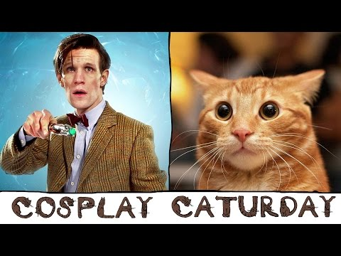 Cosplay Caturday - Dr Who