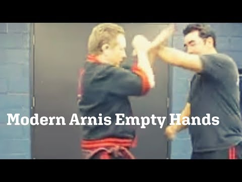 Modern Arnis Empty Hands Image 1