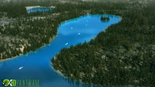 3d walkthrough Animation - Flythrough Animation | Virtual Tour - Lake Tahoe