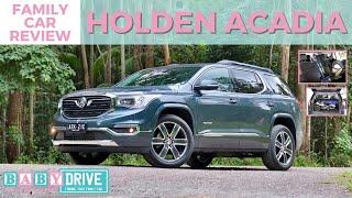 Family car review: Holden (GMC) Acadia 2019