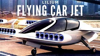 Flying car #(lilium vlot jet)