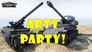 World of Tanks - Funny Moments | ARTY PARTY #10