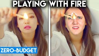 Download Lagu K-POP WITH ZERO BUDGET! (BLACKPINK - PLAYING WITH FIRE) Gratis STAFABAND