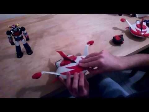 Recensione Grendizer Cms video