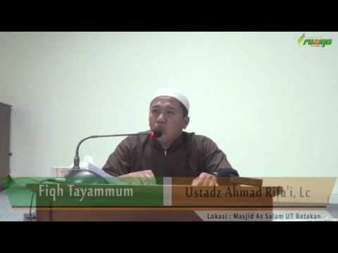 Ust. Ahmad Rifa'i - Fiqh Tayammum