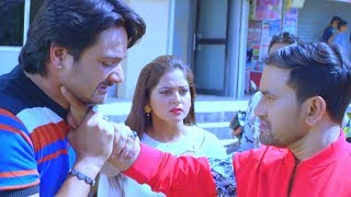 Dinesh Lal Yadav - Anjana Singh - Bhojpuri Movie Action Scene - Dinesh Bhaiya Ka Fight Scene