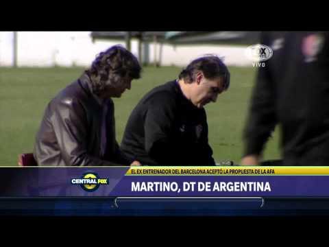 Martino, nuevo DT de Argentina