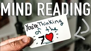 PERFECT Mind-Reading Trick Explained! (Mentalism Tutorial)