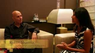 Interview with Robin Sharma (Leadership Expert, Motivational Speaker and Author)