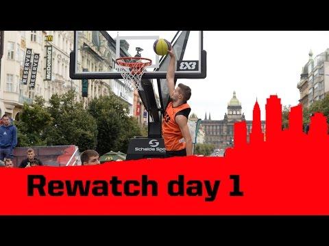 REWATCH Prague Masters Day 1 - 2014 FIBA 3x3 World Tour