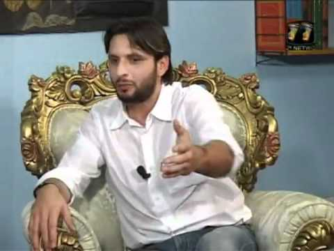 Who is the best friend of BOOM BOOM SHAHID AFRIDI??????????????? must watch -  Islam and Pakistan