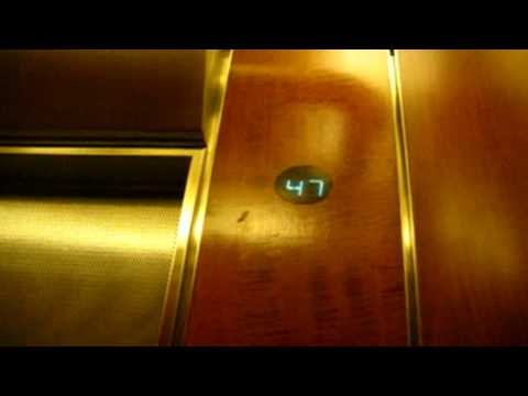 OTIS Elevonic 401 High Speed Elevator @ Brookfield Place TD Canada Trust Tower in Toronto ON (HD) Video