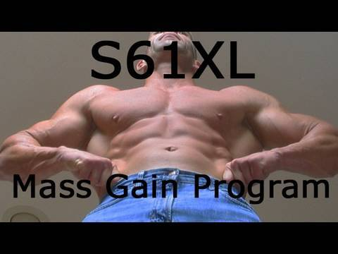 DVD2, Lat Workout - S61XL Mass Gain Program