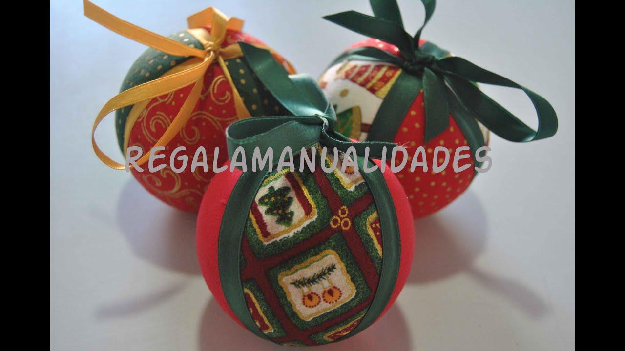 Como hacer bolas de navidad how to do christmas balls - Como hacer bolas para el arbol de navidad ...