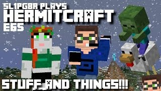 Minecraft Hermitcraft LP E65 - Stuff And Things W/ ZombieCleo! ( Let's Play )