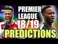 Premier League 18 19 PREDICTIONS mp3