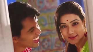 Aite Dekhi Jaite Dekhi   Bappy   Mahi   Dobir Shaheber Songshar Movie Song 2014