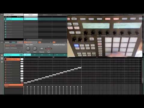Native Instruments Maschine sampling demo