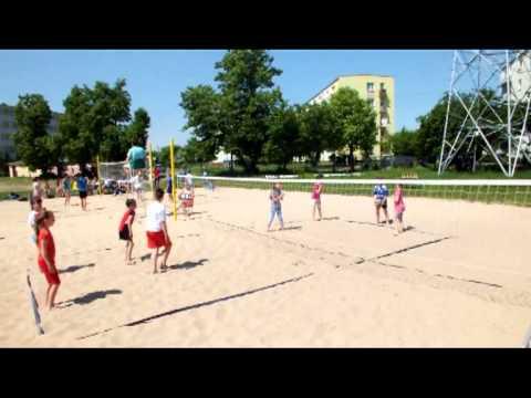 Turniej Mini Siatkówki Plażowej Szkół Podstawowych - Dęblin 2013