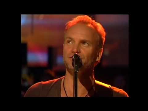 Sting - Every breath you take & Fields of gold live