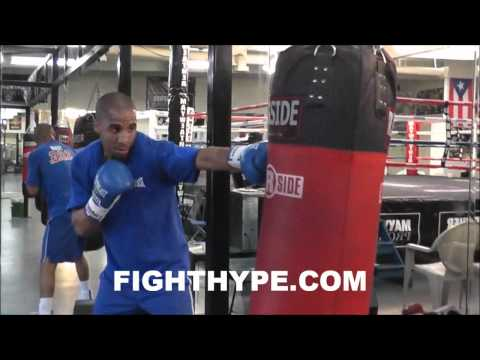 ANDRE WARD TRAINING  AT MAYWEATHER BOXING CLUB Image 1