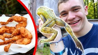 FROG GIGGING! (Catch Clean Cook)