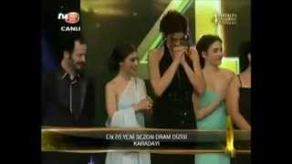 Kenan Imirzalioglu ~ KARADAYI - 4. Antalya TV Awards (27/4/2013)