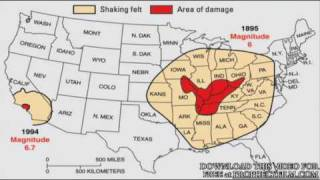 2012 Extinction-Part 6 New Madrid Earthquake Fault Will Divide The American Con183.wmv