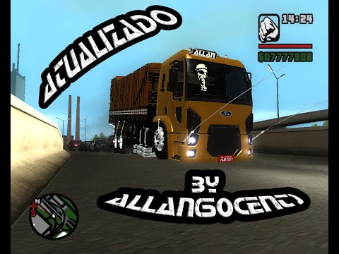 GTA SA Ford Cargo 2428 Truck 2012 by Allan(50cent)