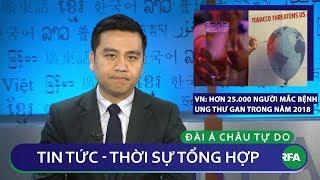 Tin nóng 24h 12/12/2018 | Việt Nam: Hơn 25 ngàn người mắc bệnh ung thư gan trong năm 2018