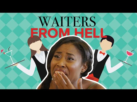 THE WAITERS FROM HELL!!! (SKETCH COMEDY) (Watch in 4K)